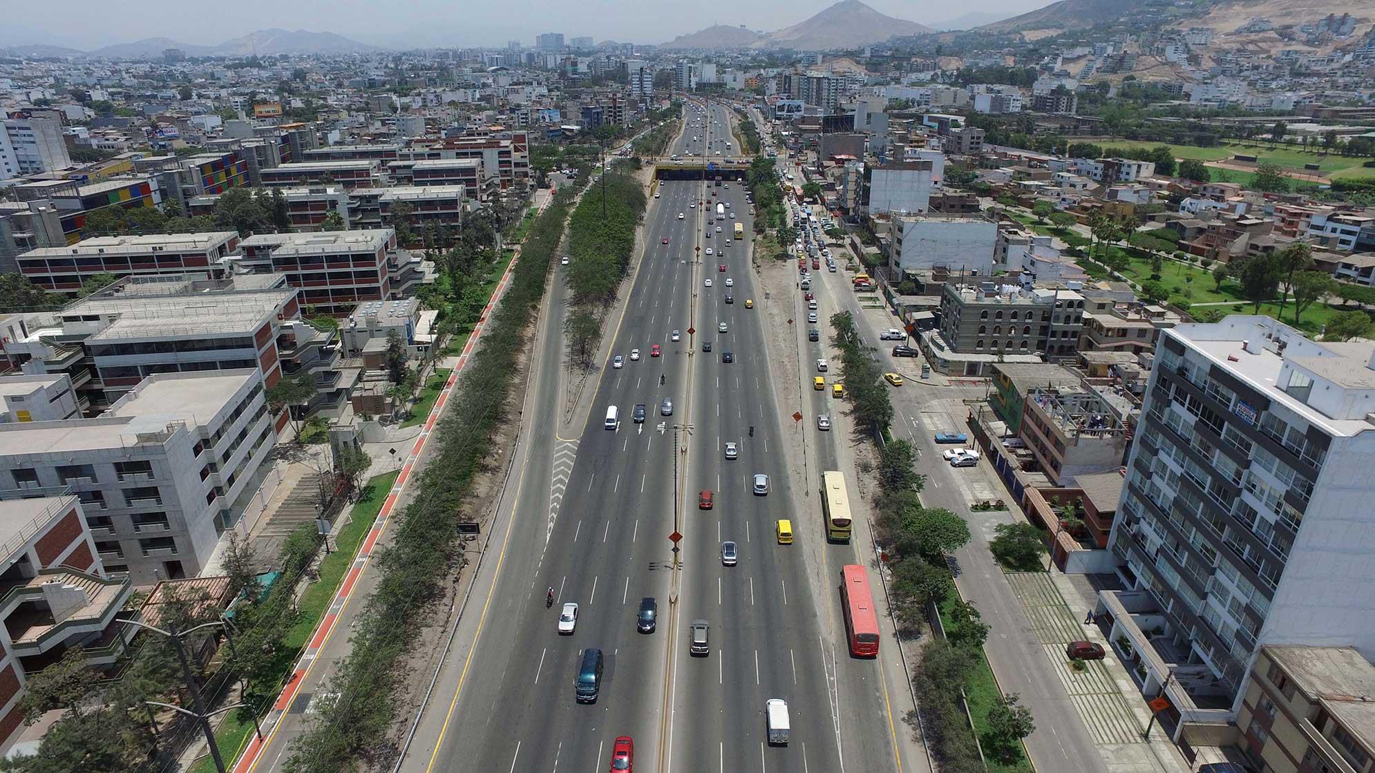 Lima antes y después: Al Norte y al Sur