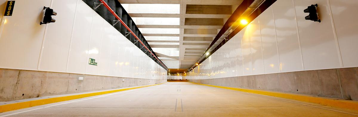 Túnel Benavides: modernidad y seguridad