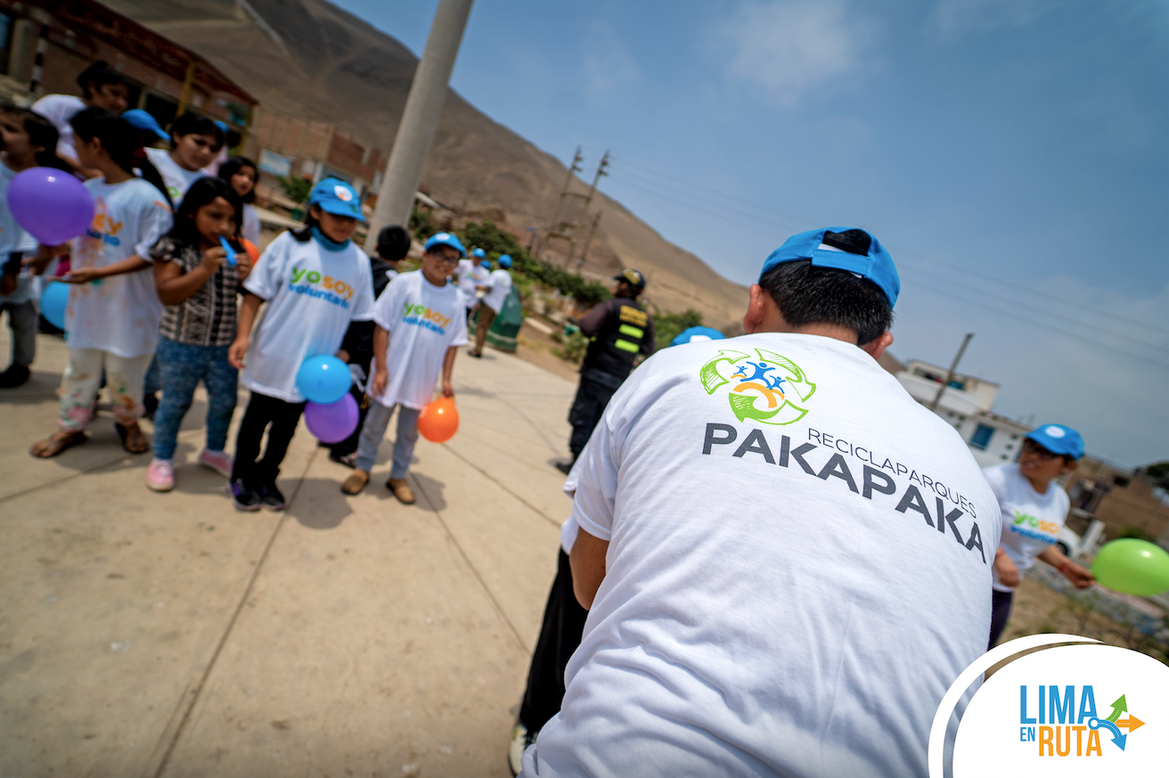 ¡Volvieron los recicla-parques Pakapaka!