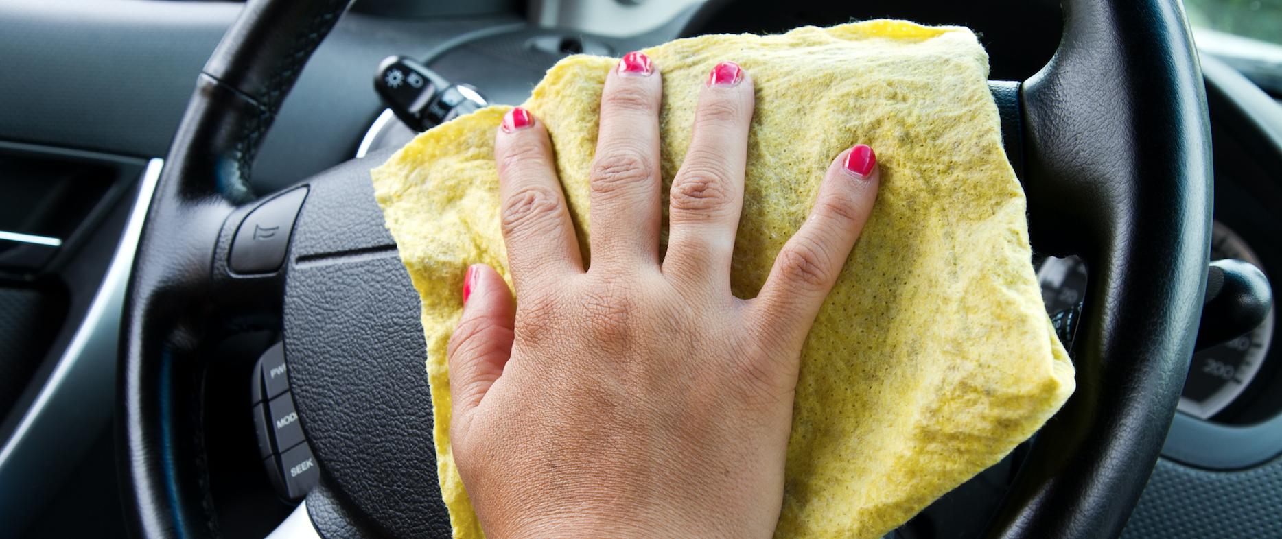 Coronavirus: consejos para la limpieza del auto