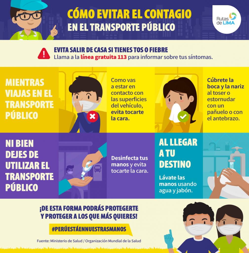 COVID-19: Cómo evitar el contagio en el transporte público