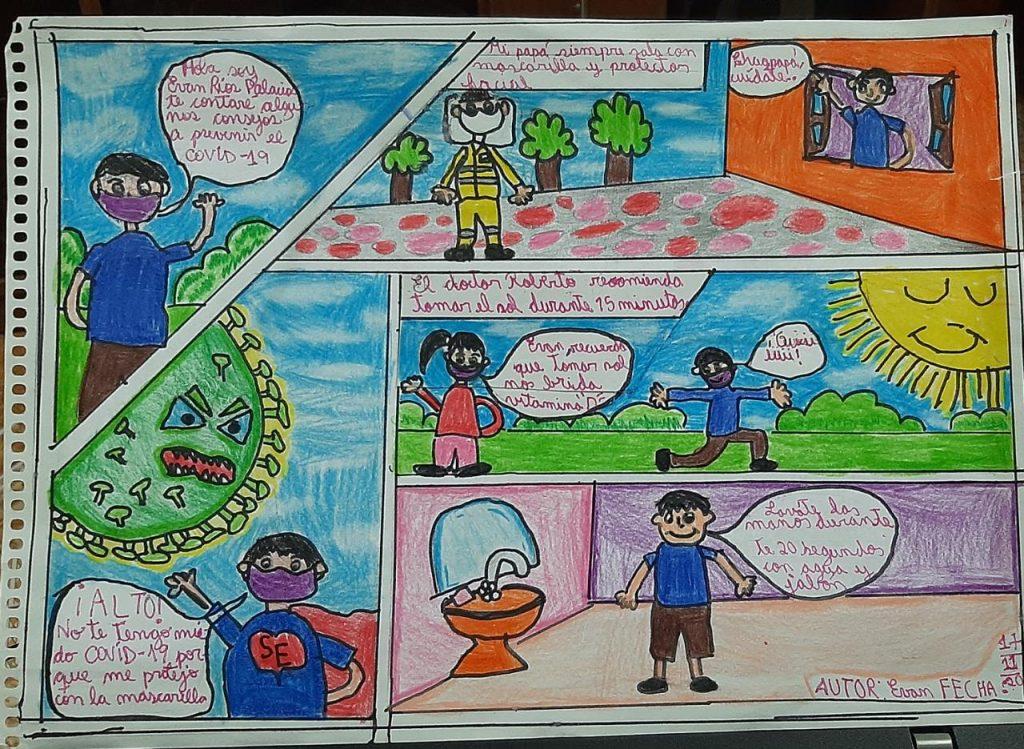 Concurso Dibujo coronavirus